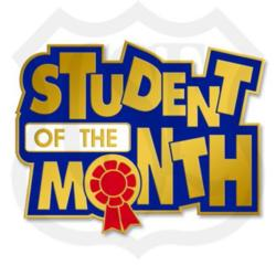 January Student of the Month!